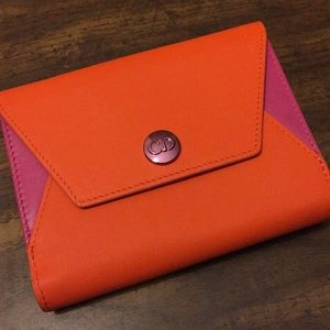 Christian Dior small leather wallet